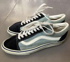 Vintage 90s Vans Old Skool Skate Sea Foam Made In Usa Rare 8.5