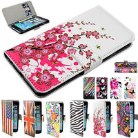 PU Leather Wallet Flip Case Cover For Apple iPhone 8 Plus Huawei Y530 LG Samsung