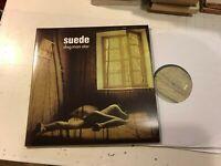 SUEDE 2 lp DEMON RECORDS '94 2014 EU IMPORT 180g DOG MAN STAR gatefold RE double