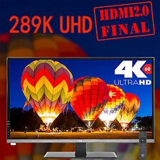 "New 28"" Crossover 289K UHD HDMI2.0 Final 3840x2160 DP HDMI 4K Computer Monitor"