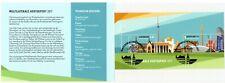 Nederland: 2017 - Velletje Hertogpost met zegel Luxemburg gestempeld
