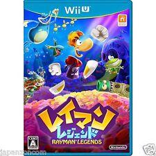 Used Wii U Rayman Legends UBISOFT JAPANESE VERSION IMPORT NINTENDO