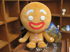 "NEW Shrek 2 The Big Headz Gingy Gingerbread Man Struffed Plush Toys 10"""