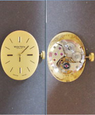wyler vetta 12 eta 2412 cal movement manual old watch dial parts working vintage