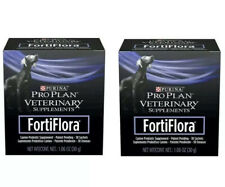 New listing FortiFlora -Canine Probiotic Supplement - 2 Pack - 60 Total Sachets - Exp 2021