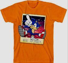 "Sonic the Hedgehog /""Rip It Up!/"" t-shirt 6-7 8 10-12 14-16 New S M L XL Orange"