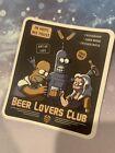 Futurama Funny Sticker Bender Fry Kill All Humans Beer