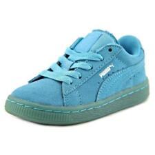 Calzado de niña de color principal azul ante