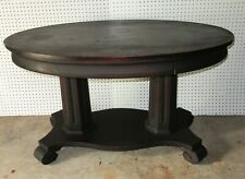 Oval Top Library Table