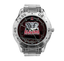 Alabama Crimson Tide NCAA Stainless Steel Analogue Men's Watch Gift