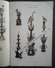 Catalogue POTERIES NORMANDES J. FILMONT Caen EPIS DE FAITAGE Céramique Tuiles