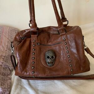 Thomas Wylde Leather Skull Bag Very Rare