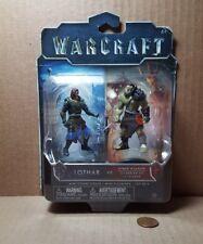 Warcraft Lothar vs Horde Warrior Mini Figure 2-pack (E-4)