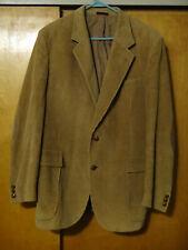 CC Courtenay Corduroy Men's Brown, Sport Coat Blaze with Elbow Patches Size L-42