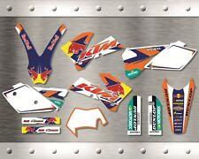 Kit Completo Grafiche Ktm Exc 2005 2006 2007 Sx 2004 2005 2006