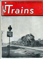Trains The Illustrated Magazine About Railroads July 1949 Gas Turbine Locomotive