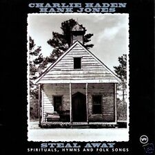 CHARLIE HADEN & HANK JONES: Steal Away [CD] Spirituals Hymns & Folk Songs, Verve