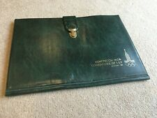 Congress Document / Briefcase from the 1980 Moscow Olympic Games