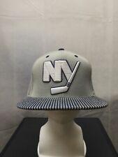 New York Islanders Mitchell & Ness Snapback Hat Grey NHL