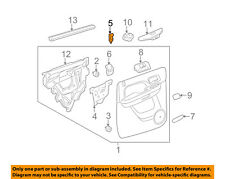 GM OEM-Door Lock Knob Post Pin 15844616
