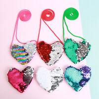 sacs à main joli sac à main sirène de paillettes coeur aimant portefeuille