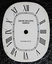 Vintage Woman's Patek Philippe Tiffany & Co. Ellipse Watch Dial White Ladies