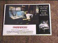 MANITOU 1978 LOBBY CARD #3 HORROR