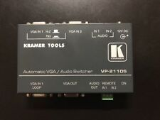 Kramer TOOLS VP-211DS Automatic VGA / Audio Switcher **WITH POWER ADAPTER**