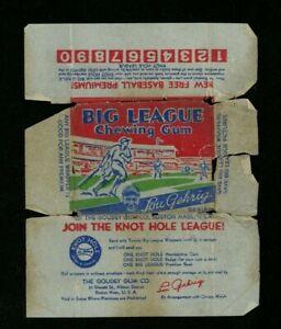 Original Authentic RARE 1934 Goudey Baseball Pack Wrapper Gum Gehrig