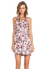 Parker $264  Winnie Dress, Size L COLOR Tango Floral (83230)
