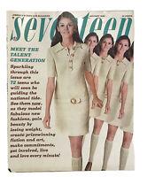 Seventeen Magazine January 1968/vintage fashion/ads/models/photos/Mertz Ruiz