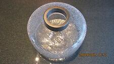 Lampenschirm, Ersatzglas, Lampenglas, Glasschirm, edele Splitteroptik, E14 ,
