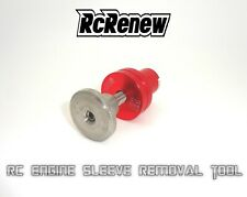 NItro rc .21 engine sleeve removal tool Os Picco Reds LRP Novarossi ( RED )