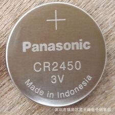 Super Fresh New Panasonic CR2450 ECR 2450 3v LITHIUM Coin Cell Battery Exp. 2027