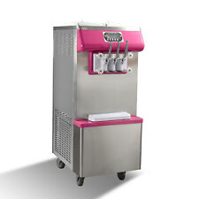 Kolice Commercial 2+1 mixed soft serve ice cream machine, gelato ice cream maker