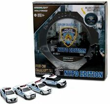 Greenlight 1/64 NYPD New York City Police Behind The Scenes Film Reel 4 Car Set