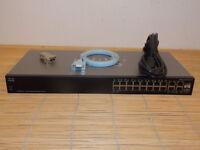 Cisco SG300-20 SRW2016-K9 18x Gigabit + 2x combo SFP mini-GBIC Ports Switch