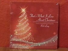 That's What I Love About Christmas by Rick Lang  CD Brand New Digipac  B1063