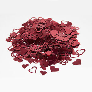 1 Bag Sparkle Heart Wedding Confetti Table Decor Party Sprinkles Scatter Love