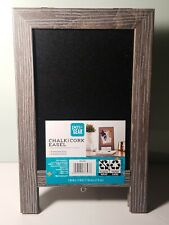 Pen + Gear Chalk and Cork Double Sided Easel - UNOPENED/NEW