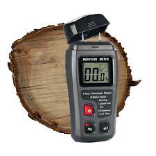 Digital LCD Wooden Moisture Meter Detector Tester Wood Firewood Paper Cardboard