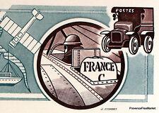 1° LIAISON POSTALE AÉRIENNE    FRANCE Document Philatélique Officiel  4078