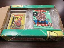 1987 Topps Garbage Pail Kids 10th Series Complete Set w/Wax Box & Wrapper !!!