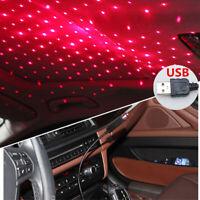 5V USB Rot LED Auto Innendecke Star Licht Deckenlampe Laser Projektor Beamer 1x