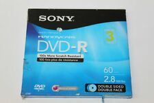 Sony DVD-R 60 min 2.4GB  Double Sided Face for Handycam Camcorder