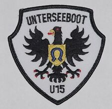 "Patch Patch marine submarino U-Boot ""u15""... a3477"