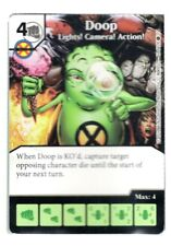 Dice Masters, X-Men First Class, Doop Lights! Camera! Action! 12/124 Card & Die