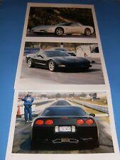 ★★1998-02 CHEVY CORVETTE PHOTO/POSTER LOT LS1 98 C5 03 5.7 COUPE 97-04 99 00 0★