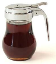6OZ Glass Maple Syrup Pourer Honey Pitcher Pourer Syrup Dispenser Restaturant