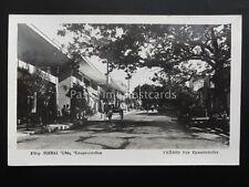 Greece THEBES Rue Epaminondas - Old RP Postcard